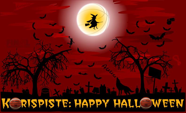 Olkalaukut Tampere : Halloween kilpailu suomen korispiste