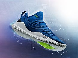 UNDER ARMOUR CURRY 5 LOW SININEN