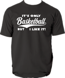 IT´S ONLY BASKETBALL T-PAITA