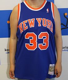 PATRICK EWING MITCHELL & NESS NEW YORK KNICKS SWINGMAN PELIPAITA