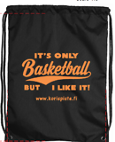 IT´S ONLY BASKETBALL KEVYTREPPU