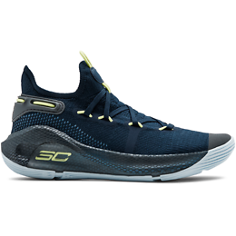 UNDER ARMOUR CURRY 6 JUNIOR NAVY