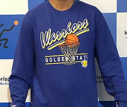GOLDEN STATE WARRIORS M&N DRIVE COLLEGEPAITA SININEN